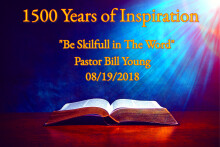 Be Skilfull in the Word